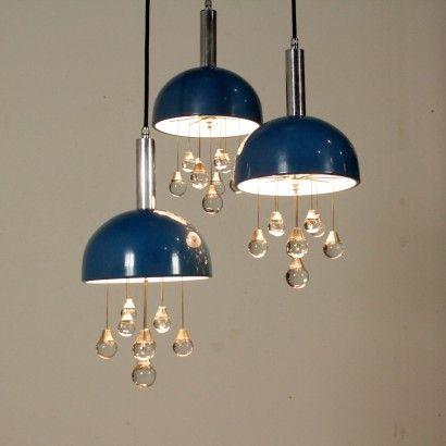 Lampadario Anni '60'70particolare Lampadari, Lampade