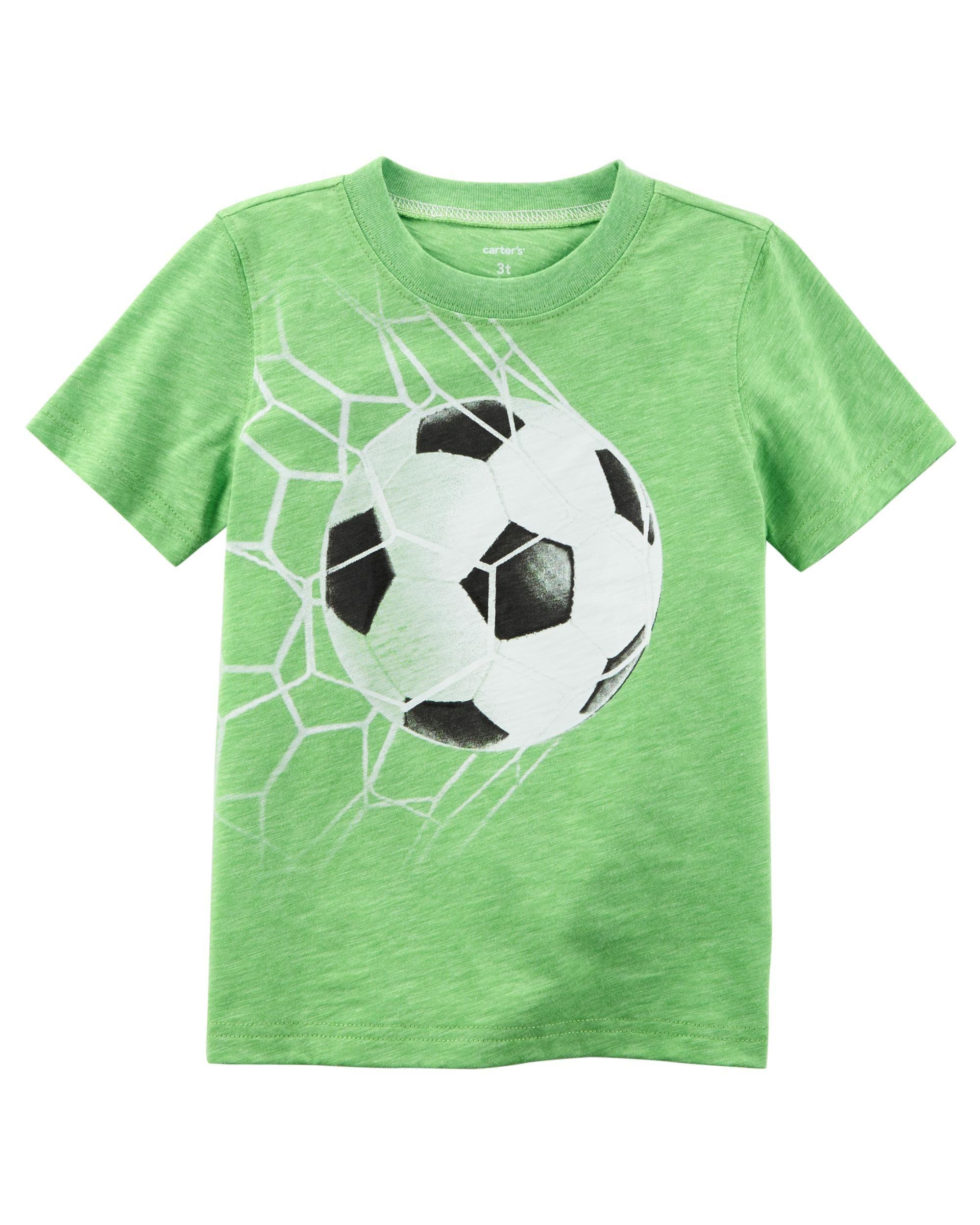 a0466b18db6 Baby Boy Neon Soccer Jersey Tee