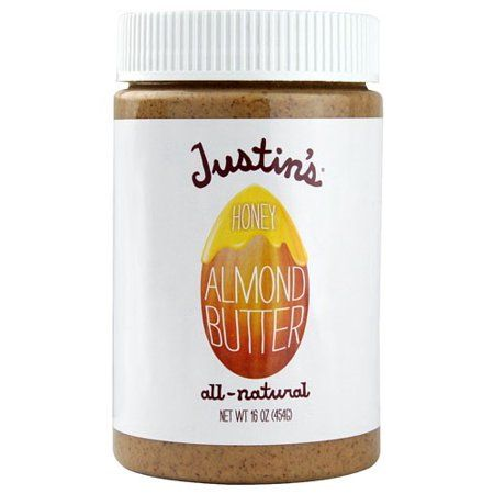 Justins Nut Butter Almnd Hny Jar,16Oz (Pack Of 6) in 2019
