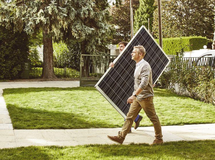 photovoltaik im dachziegel nachhaltigkeit und energie. Black Bedroom Furniture Sets. Home Design Ideas