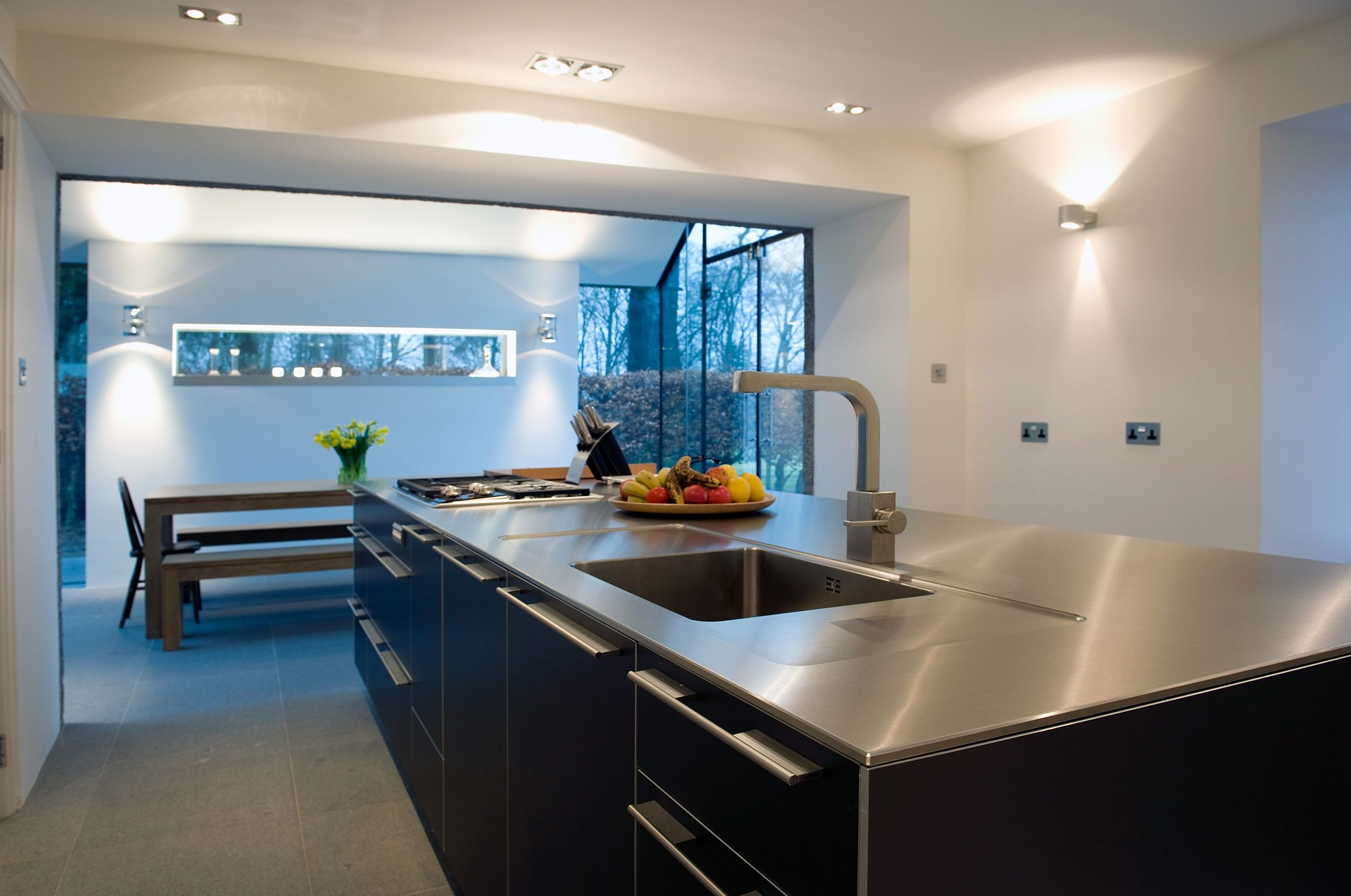 Prospect house kitchen with Bulthaup island unit