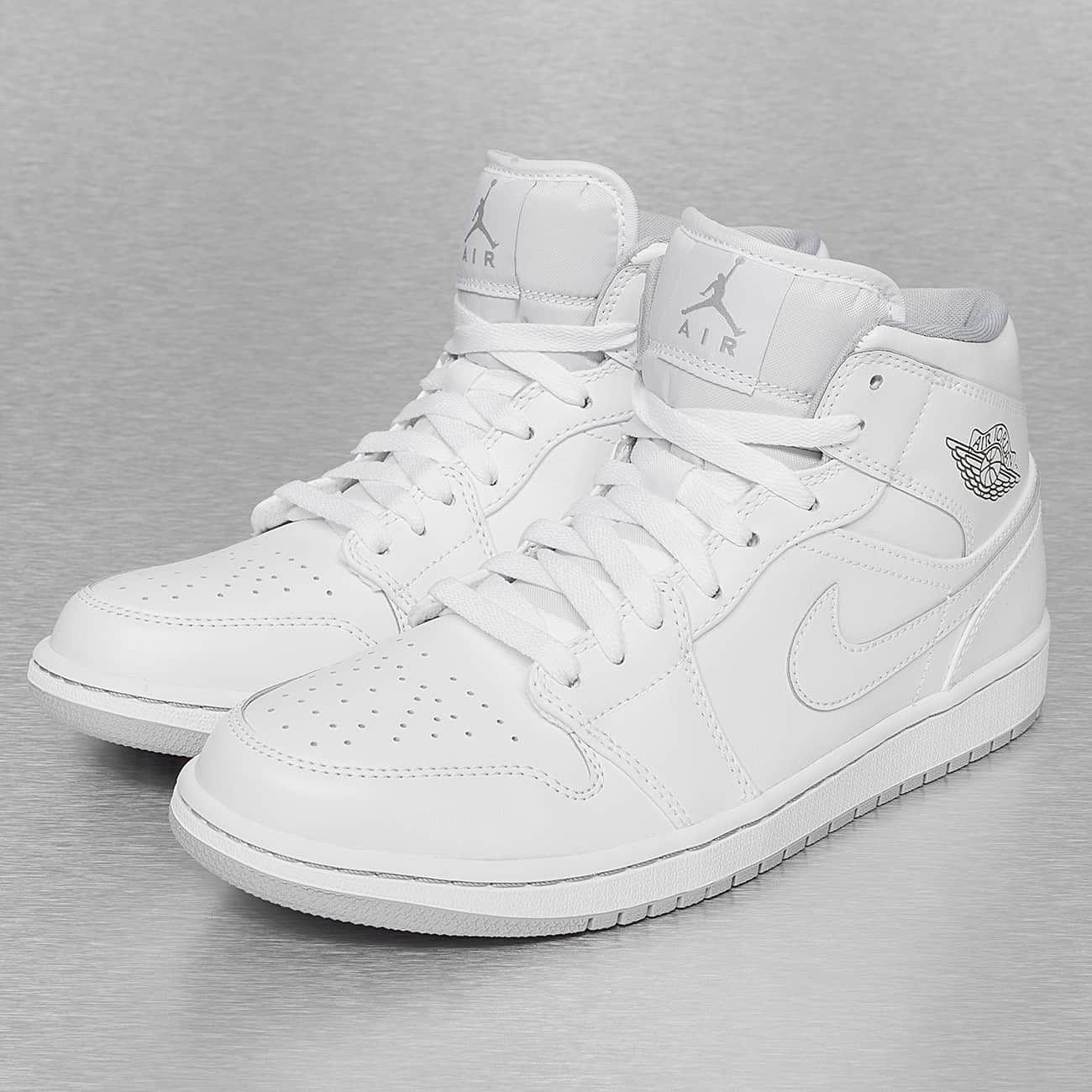Nike Air Jordan 1 Mi Femmes Blanches