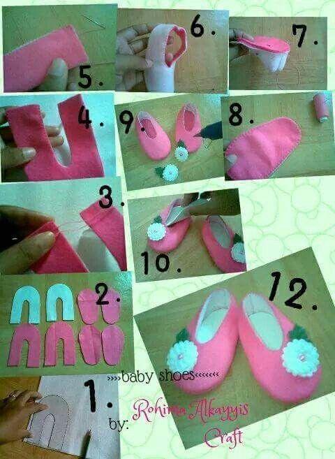 Pola Sepatu Bayi Sepatu Bayi Sepatu Pola