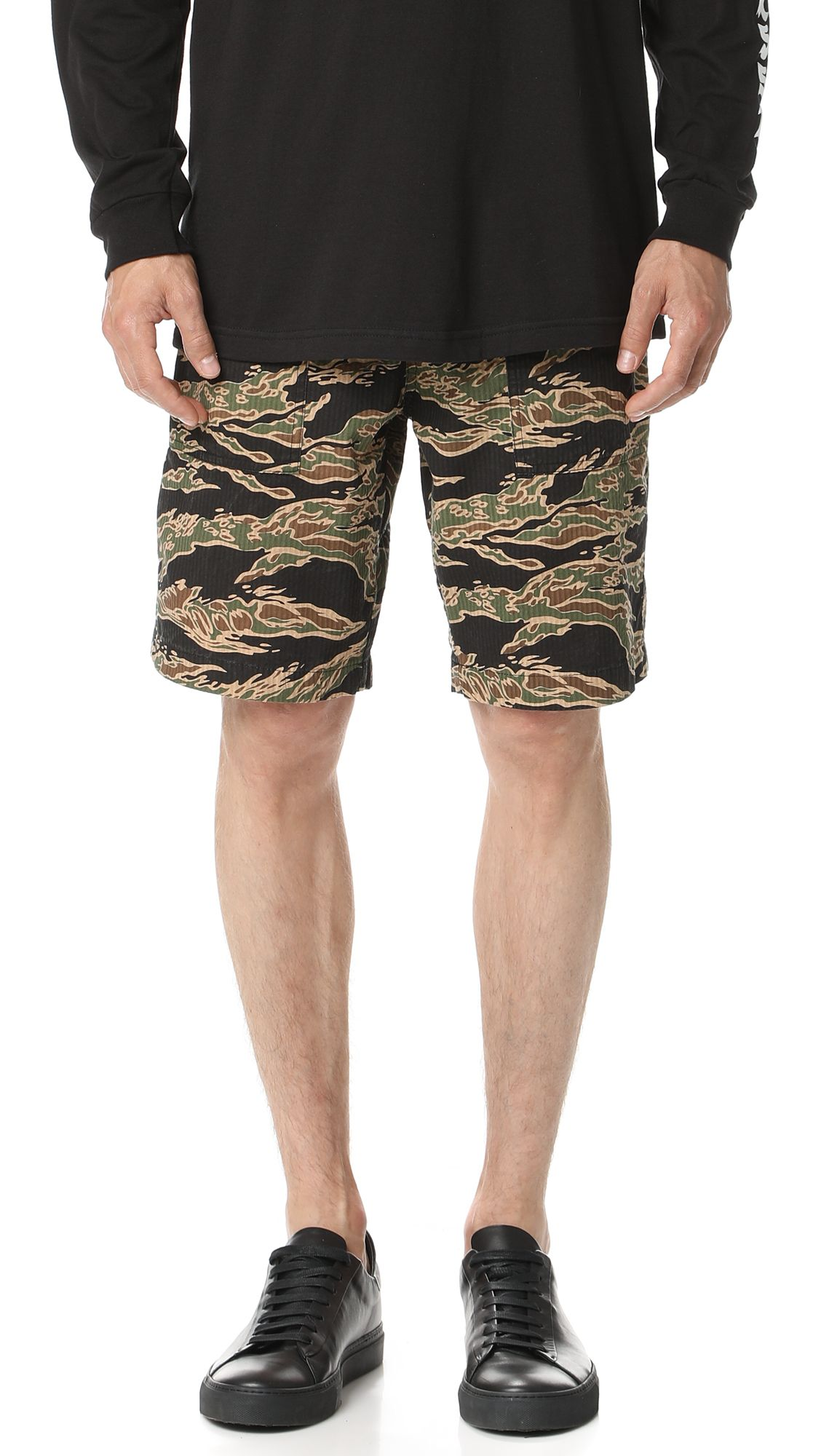 Cheap Sale Low Shipping Fee Discount Clearance CAMO BEACH SHORT - TROUSERS - Bermuda shorts Stüssy LQjoVa6