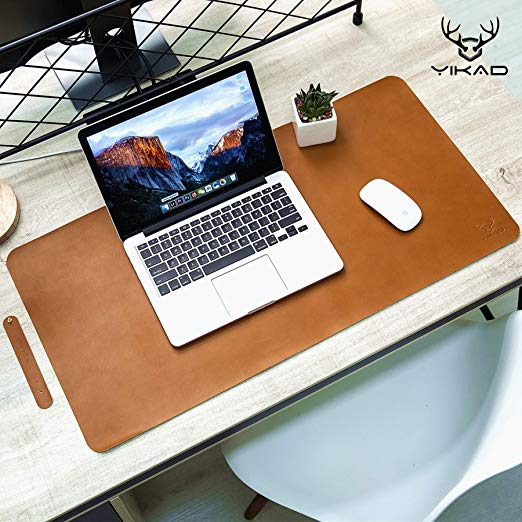 Amazon Com Yikda Extended Leather Gaming Mouse Pad Mat Large Office Writing Desk Computer Leather Mat Mou Leather Mouse Pad Office Mouse Pad Leather Top Desk