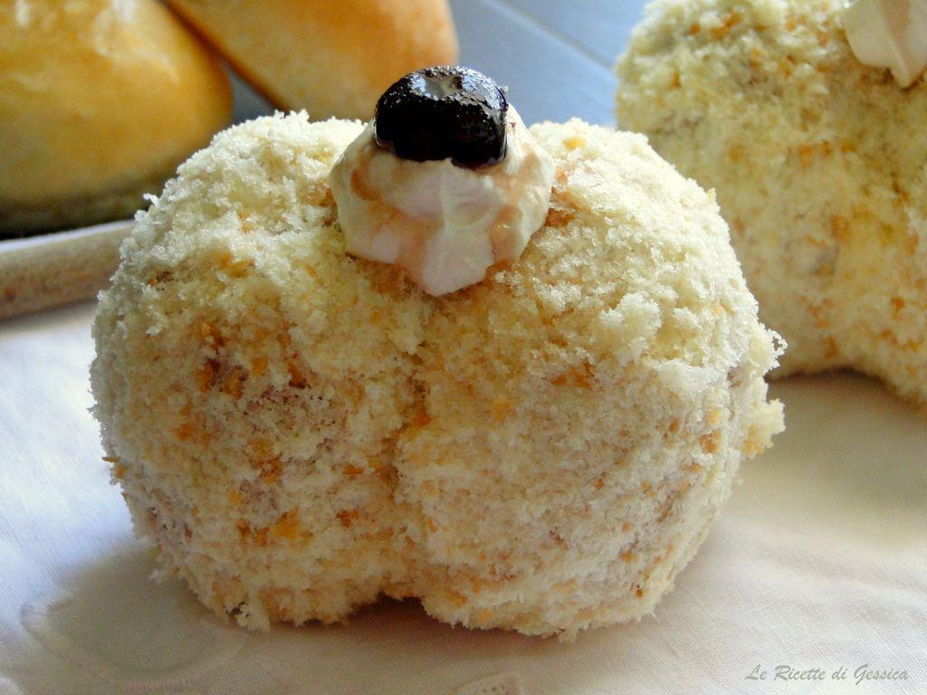 Pesche dolci siciliane alla crema ricetta anche bimby for Ricette di pasta