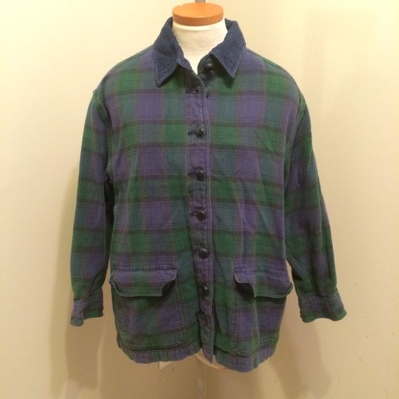 Plaid Shirt Jacket The understated blue and green plaid make this a fun piece that can be worn with bright colors or be the centerpiece of your outfit. It works as both a relaxed winter shirt or a quick jacket on a chilly day. Mens coat. 🎁 Gift Wrapping Available for $5 Krazy Kat Jackets & Coats