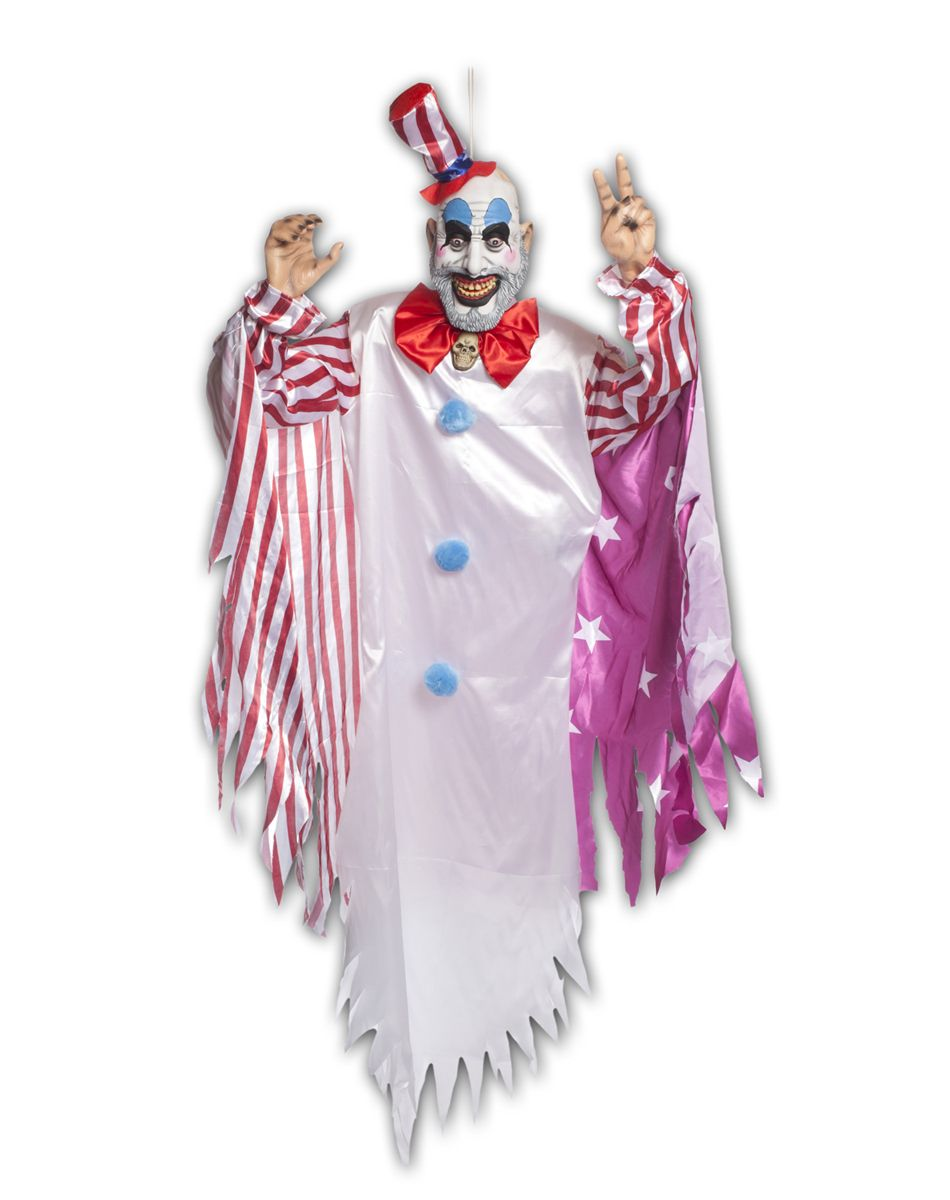 Captain Spaulding 6 foot Animated Hanging Prop. Yes, just yes ...