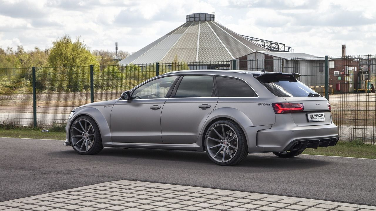 Audi a6 rs6 avant wide body kit and engine tuning by prior