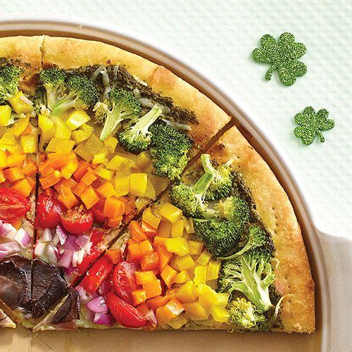Rainbow Veggie Pizza Recipe Pampered Chef Recipes