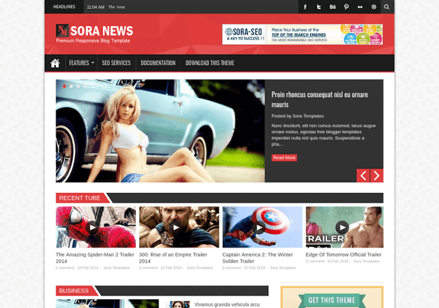 Sora news responsive blogger template is a blogger template sora news responsive blogger template is a blogger template powerhouse theme with many modern features and wajeb Choice Image