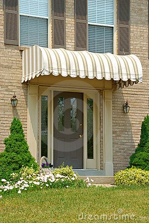 Front Door Awning Google Search With Images Front Door