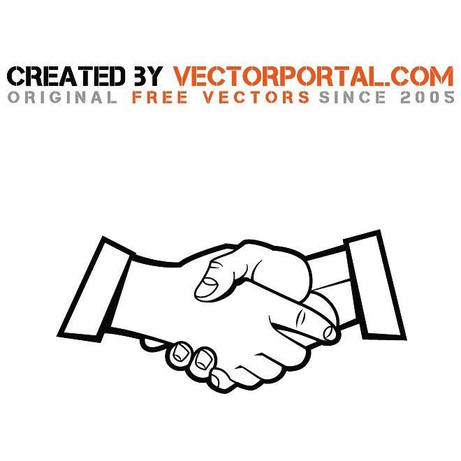 Handshake Stock Vector Graphics Handshake Logo Vector Free Helping Hands Logo