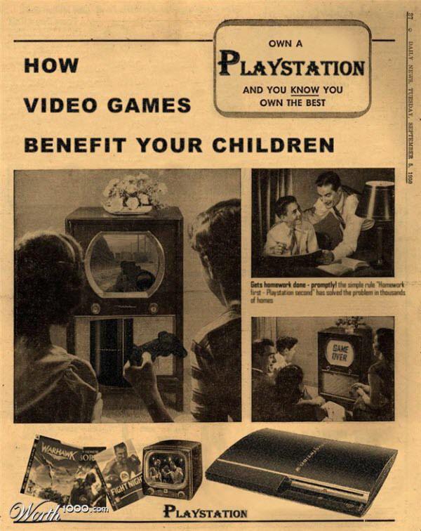 Vintage Advertisement of Modern Technology | New Vintage