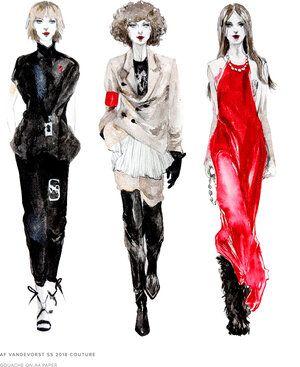 Illustration-fashion illustration-Connie Lim — Connie Lim