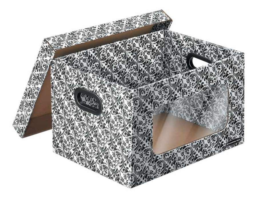 Decorative Cardboard Storage Boxes Metal U2014 All About Storage : All About  Storage