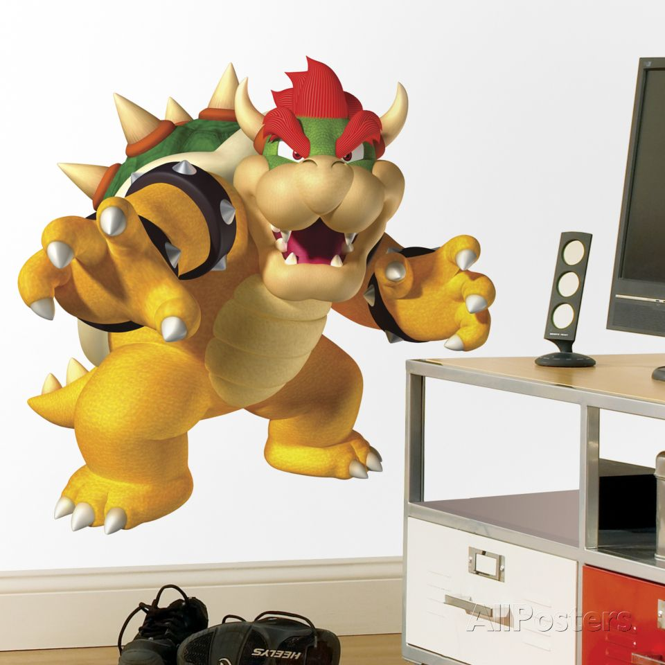 Nintendo Bowser Peel & Stick Giant Wall Decal Wall Decal