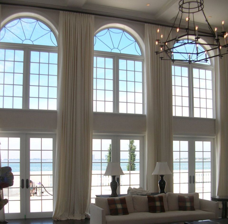 blackout drapes for over size windows draperies nyc alluring window extra long curtains. Black Bedroom Furniture Sets. Home Design Ideas