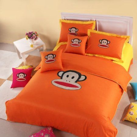 Paul Frank Bedding Set Orange