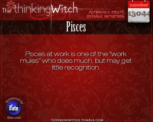 Thinking Witch - Pisces: . http://ifate.com