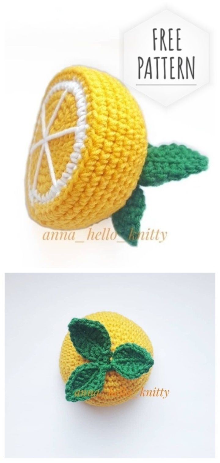 Crochet Fruit And Vegetable Patterns All The Best Ideas | 1510x720
