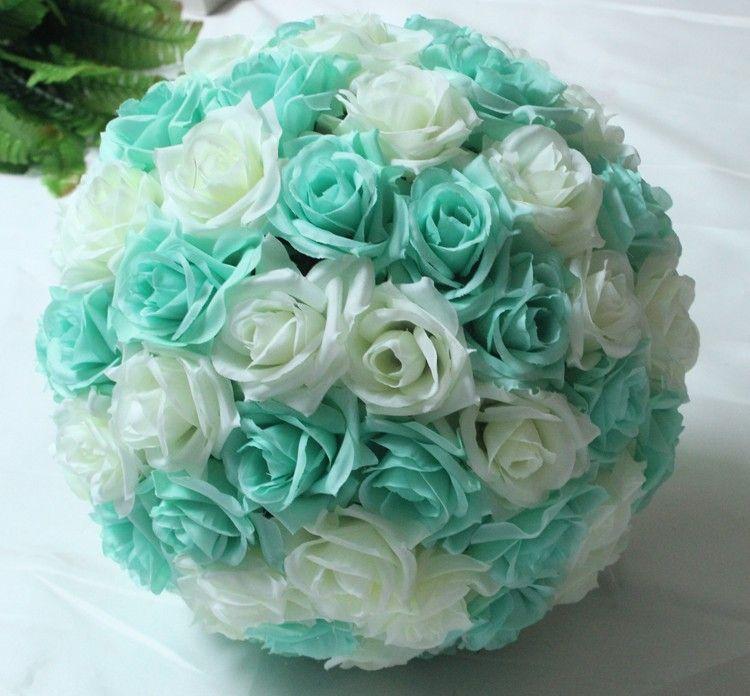 1230cm Silk Flower Ball Centerpieces Wedding Kissing Ball