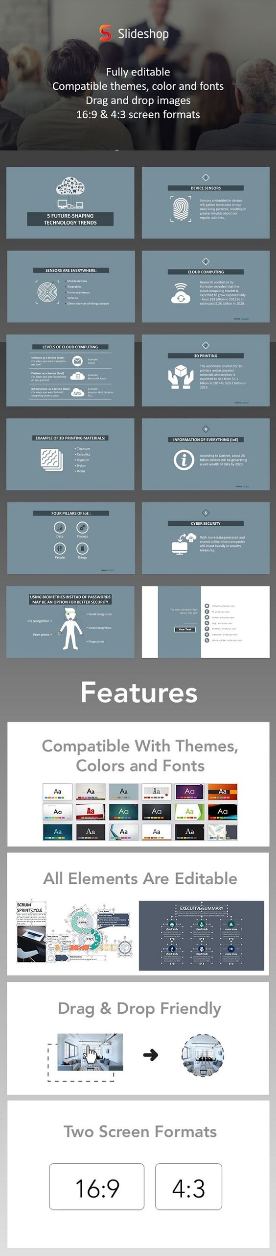 Technology trends powerpoint themes and presentation templates technology trends powerpoint template powerpoint themestemplates alramifo Image collections