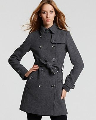@ Bloomingdales Burberry Brit Double Breasted Belted Trench $900 - Sale $626