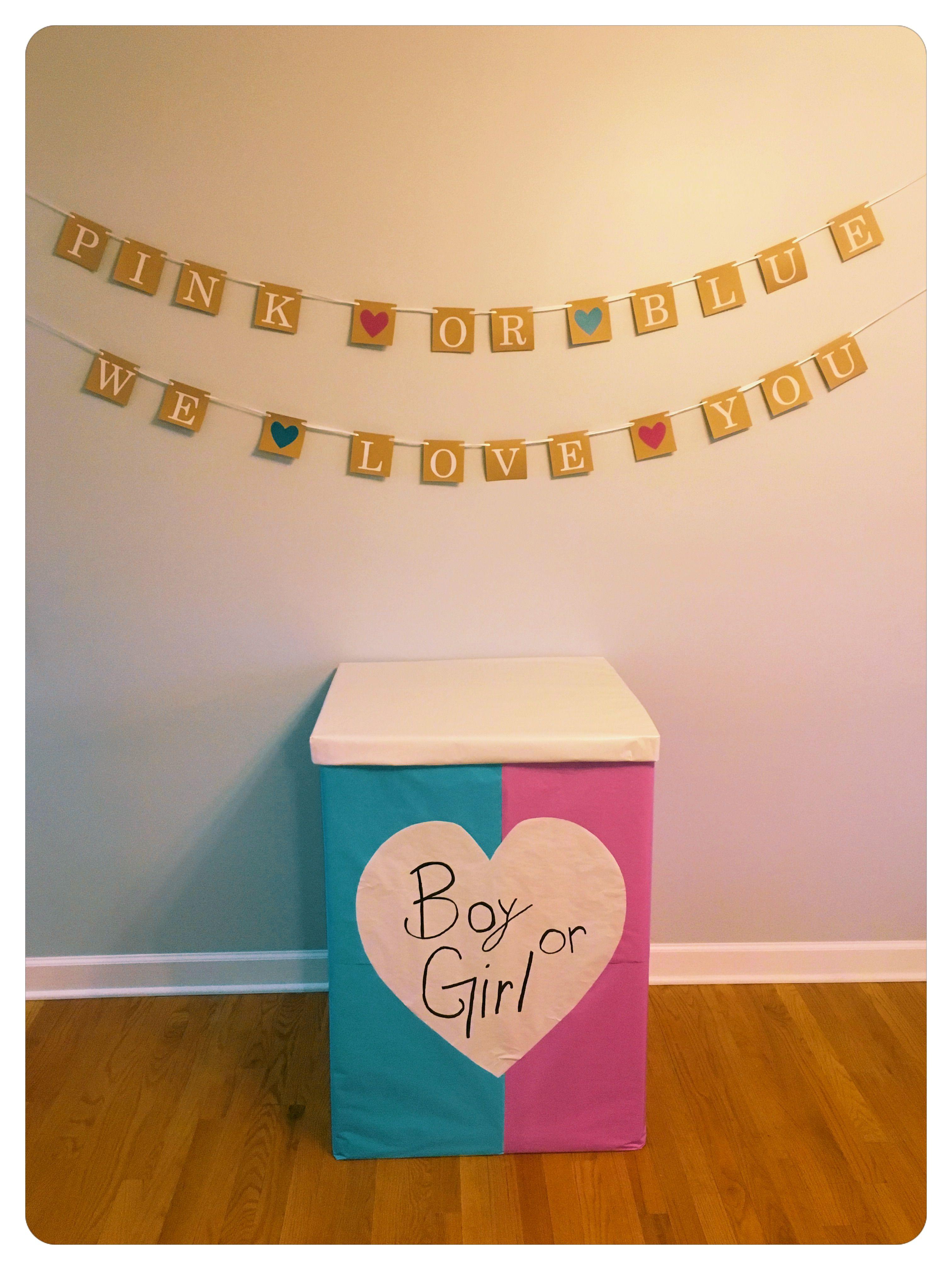 My Gender Reveal Balloon Box Boy Or Girl Punk Or Blue Gender Reveal Balloon Box Balloon Reveal Gender Reveal Balloon Box Gender Reveal Balloons Balloon Box