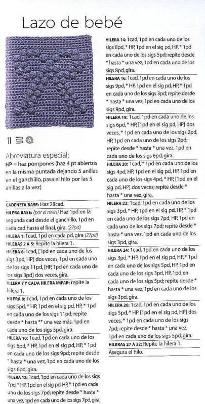 Manualidades Crochet Ganchillo Tutoriales PAP CAL SAL en Bolivia La ...