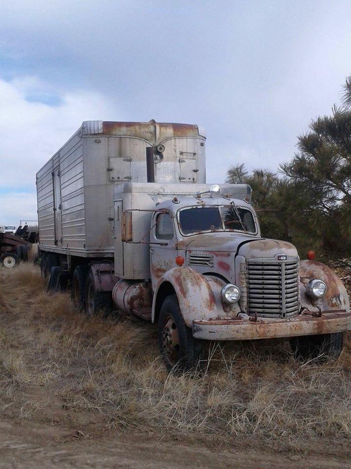 Early 40 S International W Sleeper Freightliner Trucks Vintage