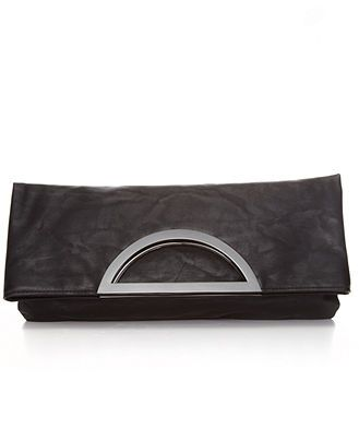 Style  Handbag, Open Handle Foldover Minibag