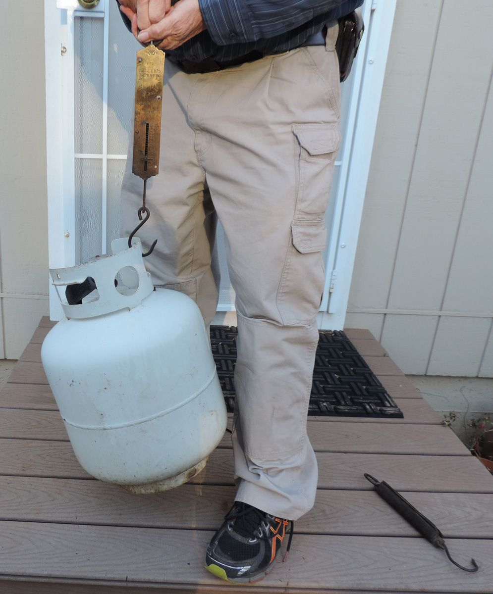 Here are a couple of ways to tell how full your propane