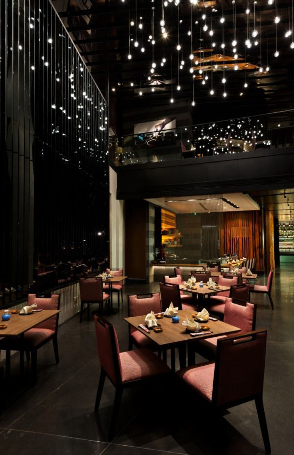 Eduardo vela ruiz restaurant interior design for Asian restaurant decoration
