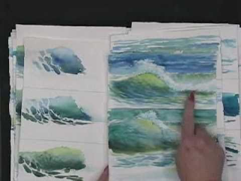 Painting Waves In Watercolor Hints And Tips By Susie Short