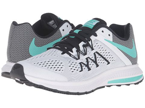 7fad3e9c686e ... Nike Zoom Winflo 3 Hyper Turquoise White Volt White - Zappos.com Zoom  Winflo 3 Lightweight Running Shoe - Womens ...
