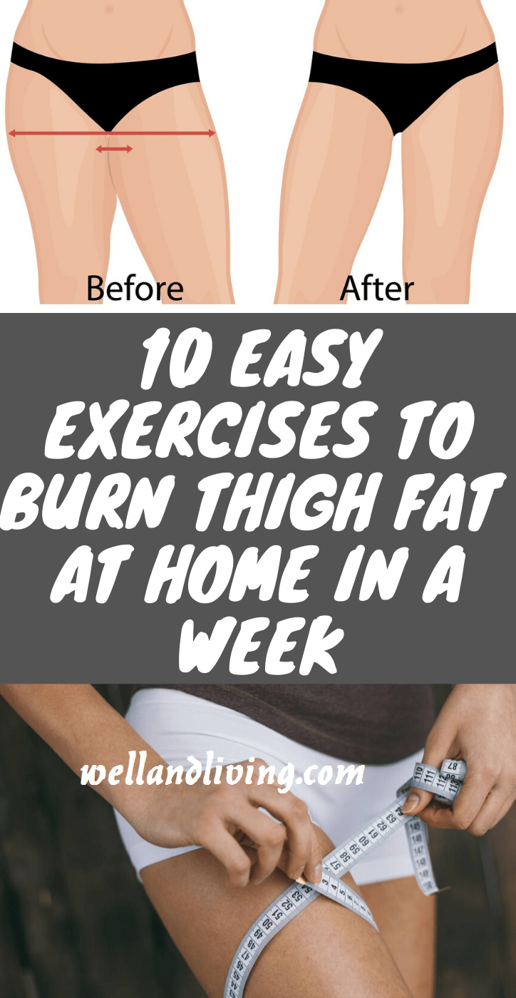 How to Lose Thigh Fat Fast In a Week 10 Exercises to Burn Thigh Fat Fast At Home  Well and Living