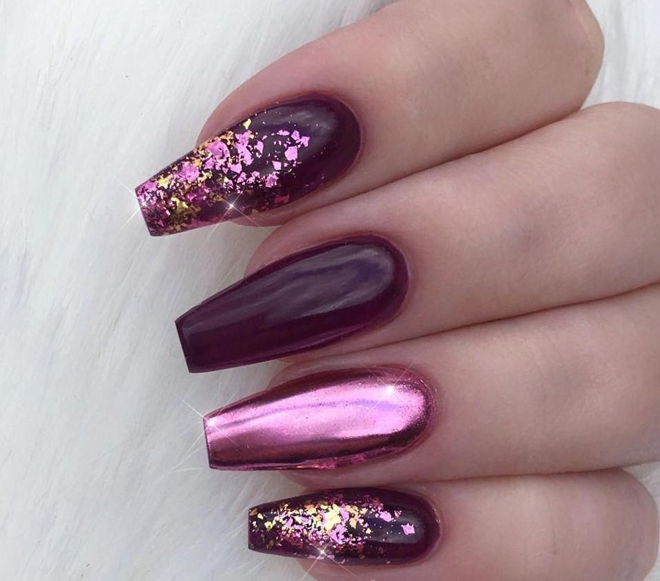 100+ Nails Art Ideas // Chrome Nails // Fashion And Beauty Ideas #chromenails #chromenails