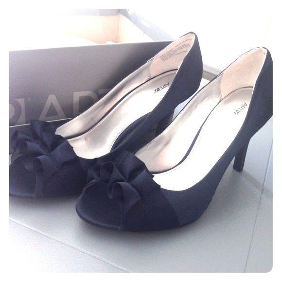 Navy blue classy heels | Heels, Heels