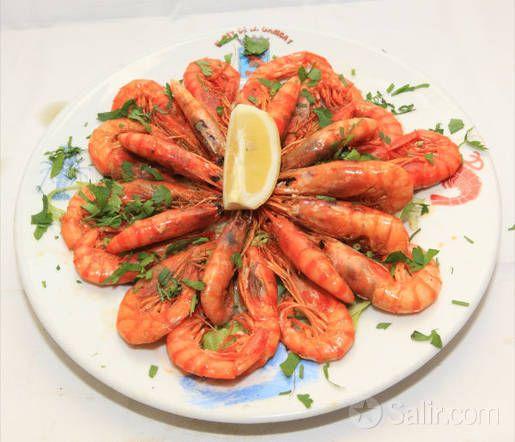 Restaurante El Rey De La Gamba 1 Cocina Marinera Parrilladas Pescados Y Mariscos Gambas Passeig Joan De Borbo 53 08003 People Food Food Fish And Seafood