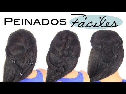 M Peinados Faciles De Hacer Para Uso Diario Peinados Y Cortes De