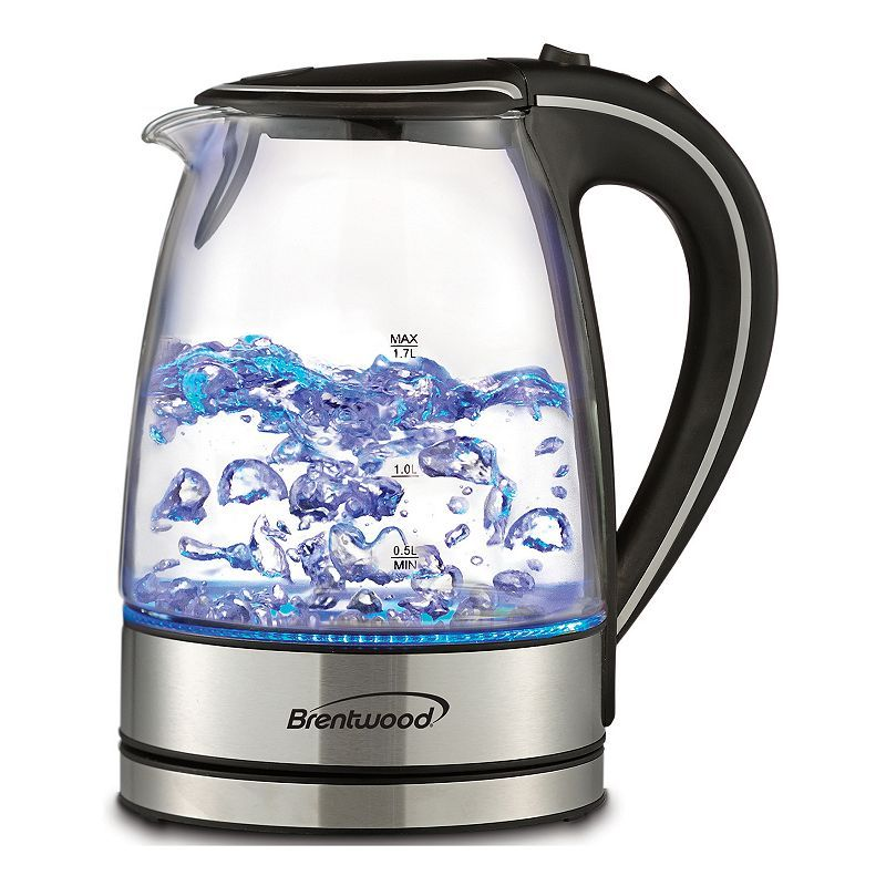 Brentwood 1 7 Liter Electric Kettle Kettle Glass