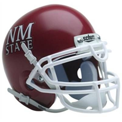 New Mexico State Aggies Football Game Helmet Football Helmets College Football Helmets Texas College Football