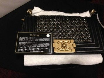 93ee9d145ed2 Classic Flap Boy Small Braided with Gold Hardware Sold Out Runway ...