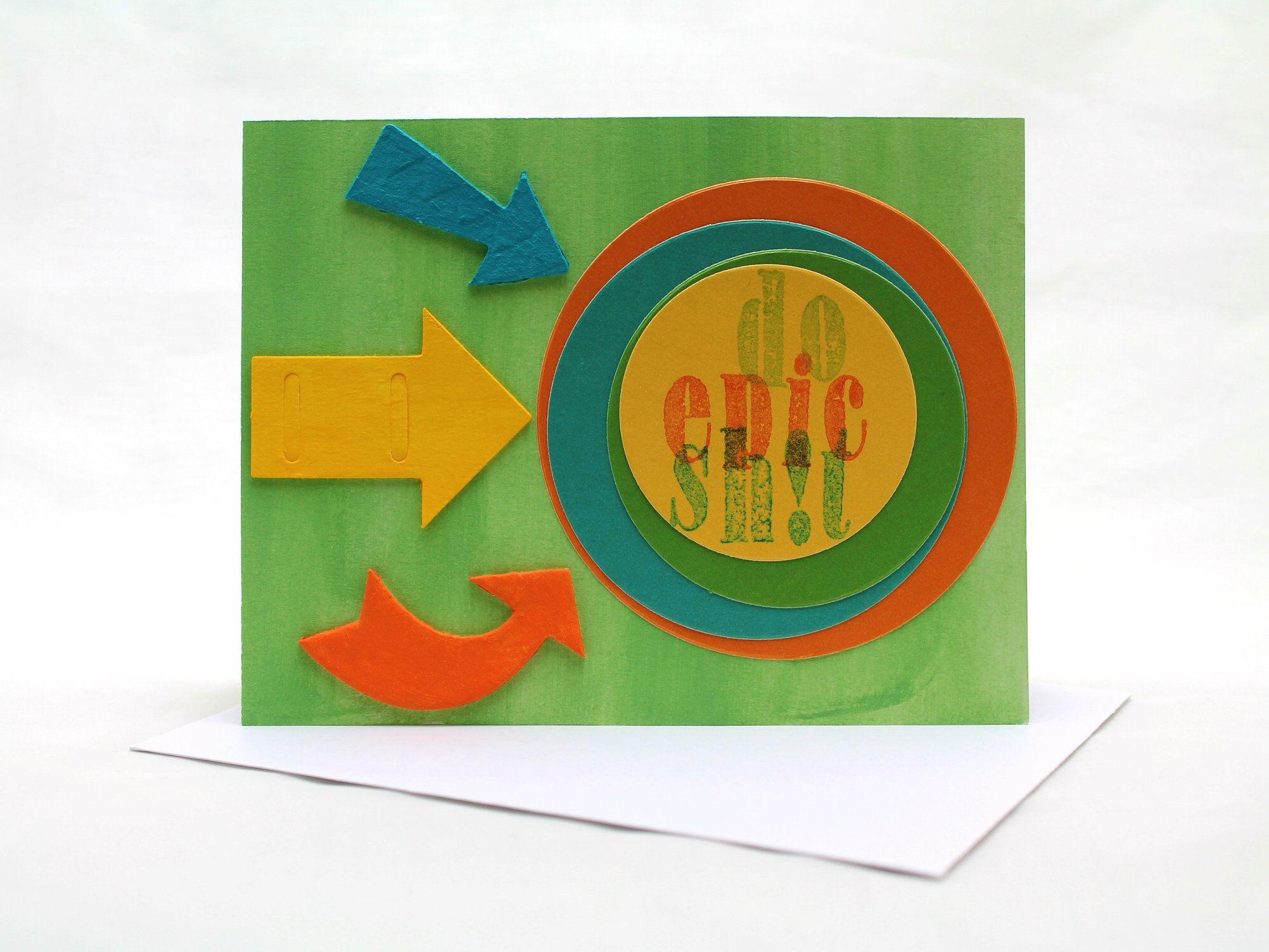 handmade congratulations card do epic sht