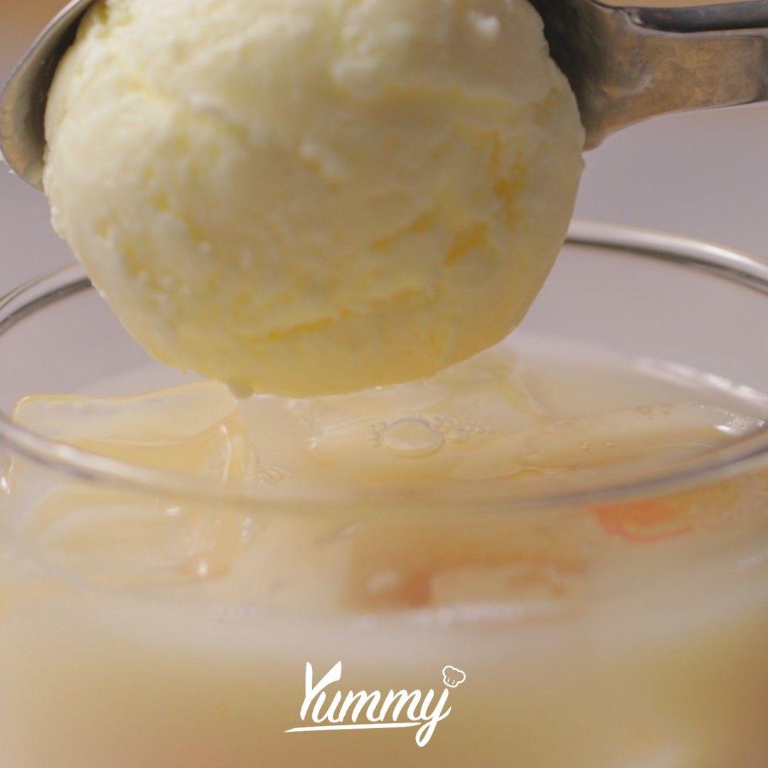Resep Dan Cara Membuat Float Ice Yakult Leci Yummy App Resep Resep Makanan Makanan Enak Resep