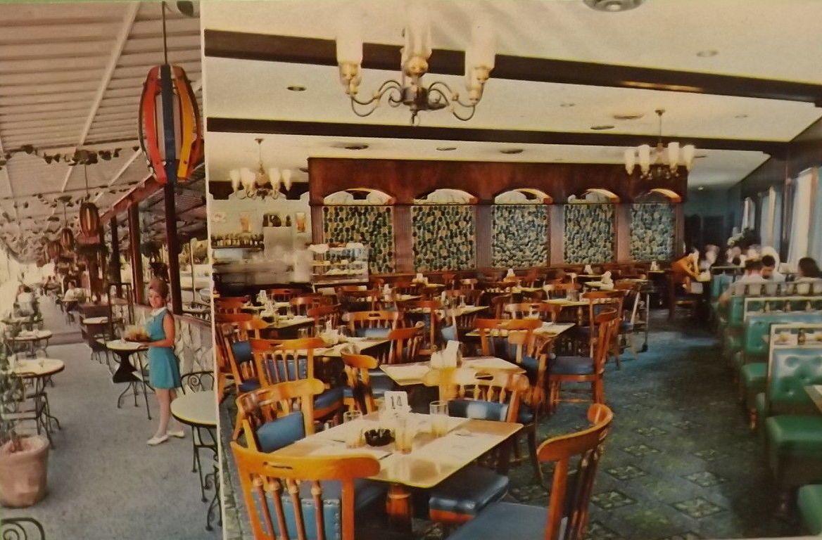 1960s Puerto Rico Bill Chan Studio Pc Las Nereidas Cafe