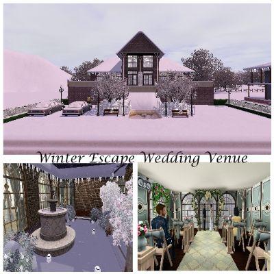 Winter Escape Wedding Venue by LilgirlShadow - The Exchange