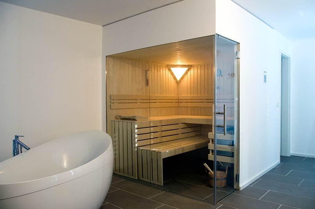 AuBergewohnlich Glasfront Sauna, Luxuriös, Design, Transparent | Apart Sauna   Ihre  Individuell