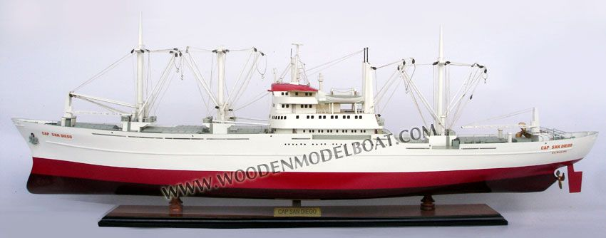 GRAUPNER CAP SAN DIEGO model boat Operating Instructions Manual